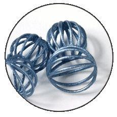 3D printed titanium.
