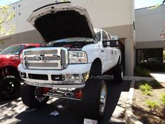 Ford Custom Lifted Trucks, Jacked Up Trucks, 4x4 Trucks, Ford Trucks, Very Good Girls, Future Trucks, American Auto, Toys For Boys, Boy Toys