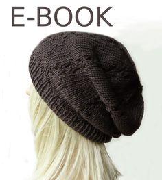 Strickanleitungen - Strickanleitung für Beanie Mütze Ebook - ein Designerstück von maleni bei DaWanda