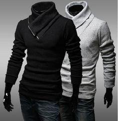 V Collar Sweater