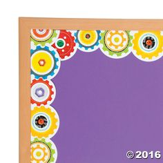 Are you looking for a cool way to transfrom your bulletin boards for the upcoming school year? Clad in colorful gears, hang these Gears Bulletin Board Borders ...