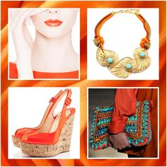 Blog Caca Dorceles. 2016. Inspire-se: Orange Fashion