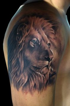 Powerful Lion Tattoo Design: Lion Tattoo Designs ~ Tattoo Design Inspiration