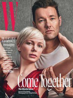 W Magazine February 2017 MICHELLE WILLIAMS & JOEL EDGERTON, Ruth Negga - NEW