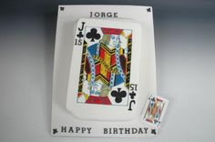 This was made for my son who loves magic. Cake decorated by Mumsnet Poster LeeAnnWelsh Theme Cakes, Party Cakes, Magician Cake, Cupcake Cakes, Cupcakes, Magic Party, Happy Birthday, Birthday Cake, Sugar Craft