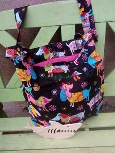 I sew backpacks, bags, shopping bags