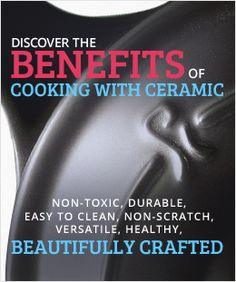 Xtrema Ceramic Cookware - Healthy, Safe and Green.
