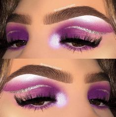 21 Purple Eyeshadow Looks for Brown Eyes > CherryCherryBeauty.com • Source: instabeautybyjess / Instagram