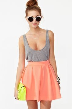 Love the skirt not to.crazy about the top