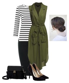 """""""Simply Green"""" by raemarie19 on Polyvore featuring John Lewis and JustFab"""