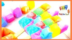 Learn Colors With Manicure Nail Art \ Learn Numbers Counting Slime Ice Cream Toys