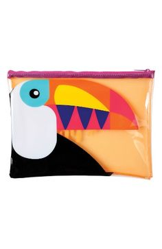 Sunnylife Graphic Beach Pouch | Nordstrom