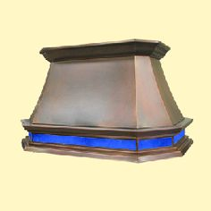 custom copper range hood Texas Lightsmith Model #33, A-L