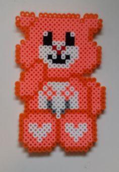 Friend Bear - Care Bears perler beads by Joanne Schiavoni