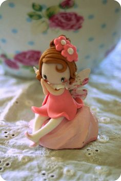 Fairy Figurine by TheDollAndThePea on Etsy