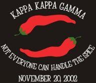 Not everyone can handle the spice of Kappa Kappa Gamma!