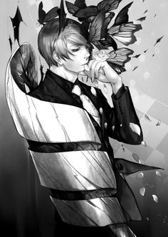 Tsukiyama Shuu ||| Tokyo Ghoul Fan Art by 新田 on Pixiv