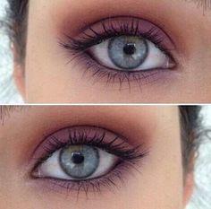 Bit of a twist on a beautiful smokey eye