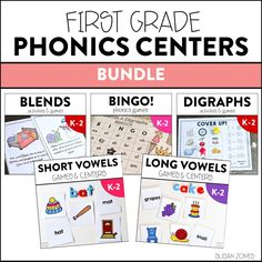 Do you play Phonics Games in First Grade? While we have been snowed in for the past two days, I thought I would re-do some of my oldest units for some updated phonics fun! We like to play a lot of games and use hands on activities in my room. So I thought I would …