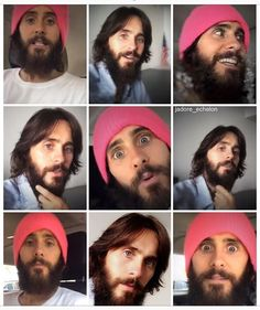 2017, the year of the pink beanie. lol I  it