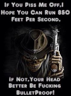 You better be bulletProof!