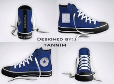 Tardis high tops