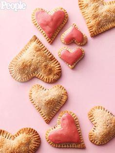 Weelicious Valentine Raspberry Cream Cheese Heart Tarts in @PeopleMag