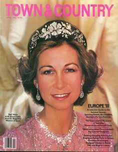 Queen Sofia of Spain, April 1981