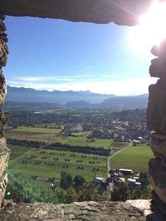 Landskron Castle (great view from the castle) - Villach, Austria