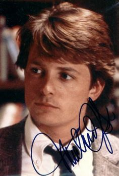 how to get michael j fox autograph