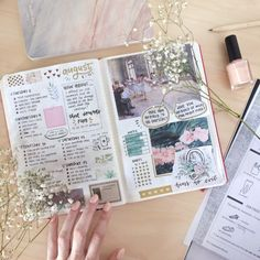 """journalsanctuary: """"Powder pink spread with paintings by Edgar Degas and Édouard Manet ✨ """""""