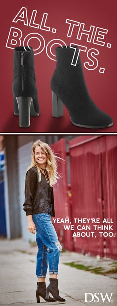 Fall back into boots for the cooler weather season – find all your faves at DSW.com today!