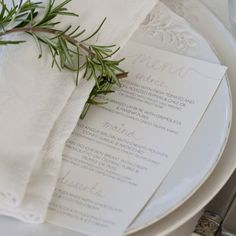 Tiffany & Gareth: A Romantic Garden Wedding, NSW The Place Settings – The Knot