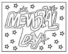 Memorial Day coloring pages for kindergarten, preschool, firstgrade. Enjoyable free printable Memorial day coloring pages ideas for kids. Memorial Day Prayer, Happy Memorial Day Quotes, Memorial Day Pictures, Memorial Day Thank You, Preschool Coloring Pages, Free Printable Coloring Pages, Coloring Pages For Kids, Memorial Day Coloring Pages, Kids Daycare