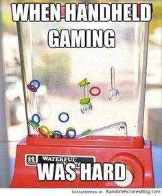 hand held gaming in the #eighties