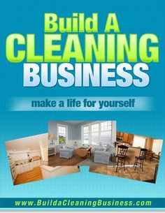 Want to start my own cleaning business?