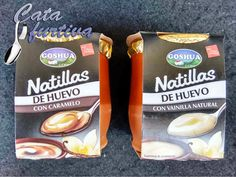 """Natillas de huevo"" de Goshua | Cata furtiva"