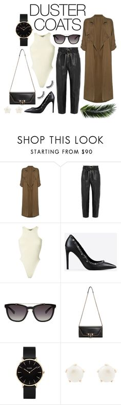 """""""Coat Couture"""" by andreaverceles ❤ liked on Polyvore featuring Label Lab, Petar Petrov, Yeezy by Kanye West, Valentino, CLUSE, Lulu Frost, contest, coat, couture and DusterCoats"""