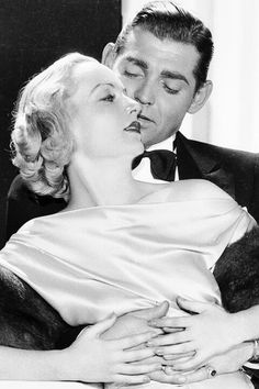 Clark Gable was a man-whore. He married five times and slept with almost all of his co-stars and remained faithful to very few of them, the most notable exception being wife Carole Lombarde. Unfortunately Lombarde was killed in a plane crash, and Gable never seemed to recover, turning to alcohol to deal with his depression.