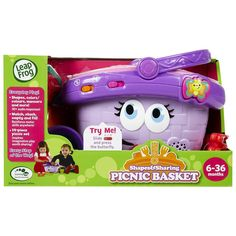 Leapfrog Shapes And Sharing Picnic Basket Nothing Is Better Than A