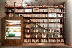 Résultats de recherche d'images pour «design store shelving coffee shop»