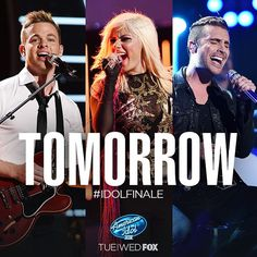 OMG, the #IdolFinale starts TOMORROW!  Will you be watching? 9/8c on @FOXTV!