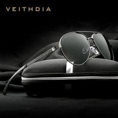 d9de1aa1c5 FuzWeb VEITHDIA er Aluminum Magnesium Men s Polarzed Mirror lens Male Eyewear  Sunglasses For Men 3801