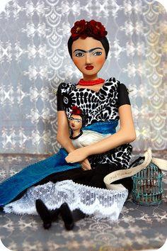 Du Buh Du designs Frida doll