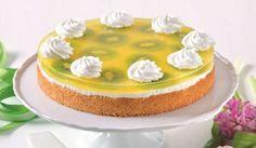 Jarná šumienková kiwi torta