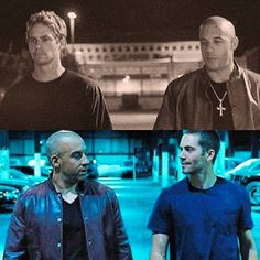 Dom & Brian // Vin Diesel & Paul Walker. The Fast and The Furious & Fast and Furious 6
