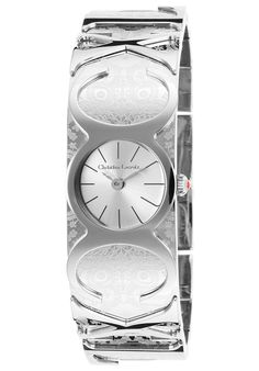 Christian Lacroix Watches Women's Stainless Steel Silver Tone Dial SS 8000301,    #ChristianLacroix,    #8000301,    #Fashion