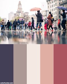 The Colors Of The Street Color Scheme from colorhunter.com