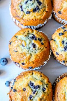 The Best Easy Jumbo Blueberry Muffins Recipe - breakfastYou can find Breakfast and more on our website.The Best Easy Jumbo Blueberry Muffins Recipe - breakfast Jumbo Blueberry Muffin Recipe, Homemade Blueberry Muffins, Jumbo Muffins, Frozen Blueberry Recipes, Best Muffin Recipe, Gluten Free Blueberry Muffins, Simple Muffin Recipe, Recipes With Frozen Blueberries, Costco Muffin Recipe