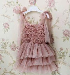 Purple Dress with Adjustable Straps Wedding Dress for Flower Girls | Rudelyn's Sari Sari Store